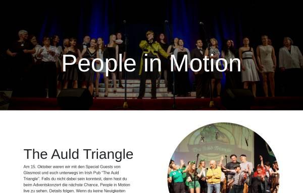 Vorschau von people-in-motion.de, People in Motion und Liederkranz Heldenfingen