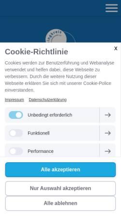 Vorschau der mobilen Webseite www.singkreis-bernhardswald.de, Singkreis Bernhardswald e. V.