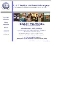Vorschau der mobilen Webseite www.doessereck.de, Weihnachtsmann-Service