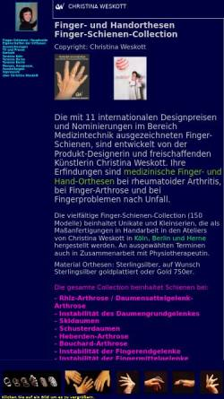Atelier Weskott, Inh. Christina Weskott In Köln/Marsdorf: Alternative  Medizin, Produkte Und Dienstleistungen Rheuma Ringe.de