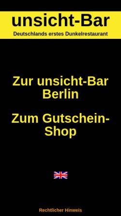 Vorschau der mobilen Webseite www.unsicht-bar.com, Unsicht-Bar