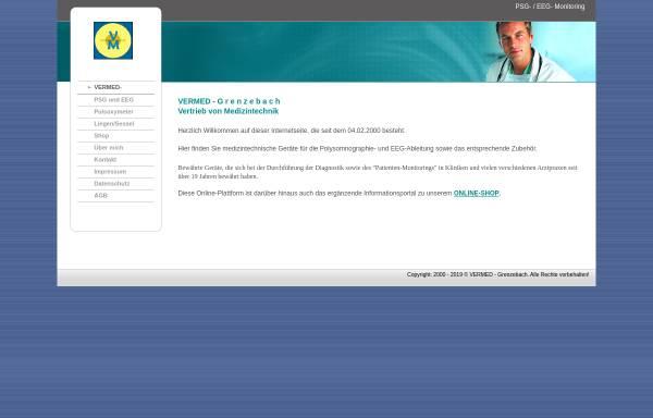 Vorschau von www.vermed.de, VerMed, Inh. Michael Grenzebach