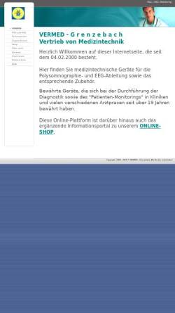 Vorschau der mobilen Webseite www.vermed.de, VerMed, Inh. Michael Grenzebach