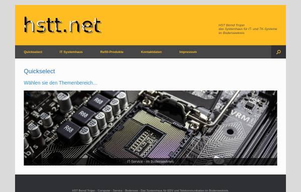 Vorschau von www.hstt.net, HST Bernd Trojan