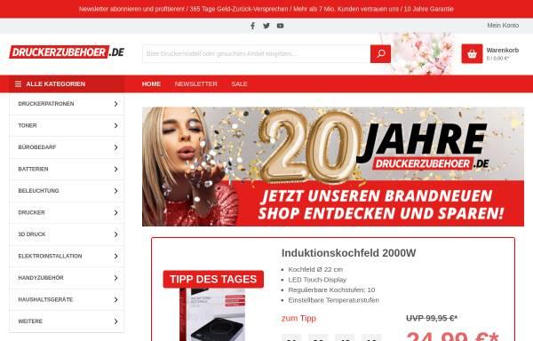 Vorschau von www.druckerzubehoer.de, Internetmarketing Bielefeld GmbH