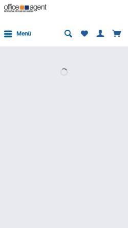 Vorschau der mobilen Webseite www.officeagent.de, Louez eSolutions, Inh. Markus Darr