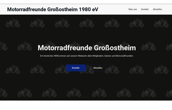 Vorschau von www.mfgrossostheim.de, Motorradfreunde Grossostheim