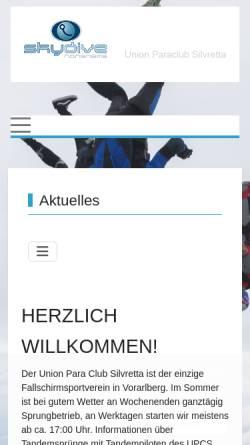 Vorschau der mobilen Webseite www.upcs.at, UPCS in Hohenems