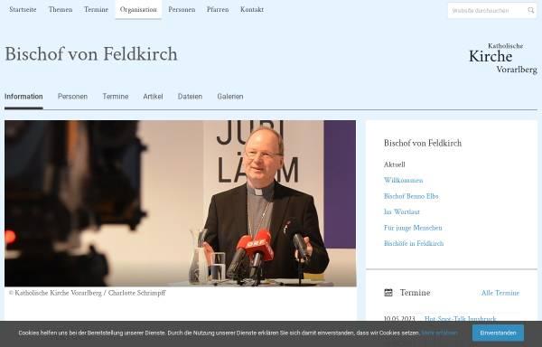 Vorschau von www.kath-kirche-vorarlberg.at, Fischer, Elmar