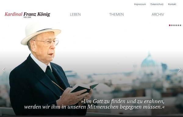 Vorschau von www.kardinalkoenig.at, König, Franz