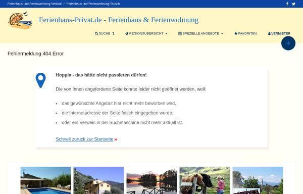 Vorschau von www.ferienhaus-privat.de, Ferienhaus nahe Bouillante