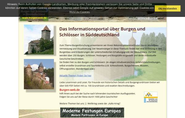 Vorschau von www.burgen-web.de, Burgen-Web.de