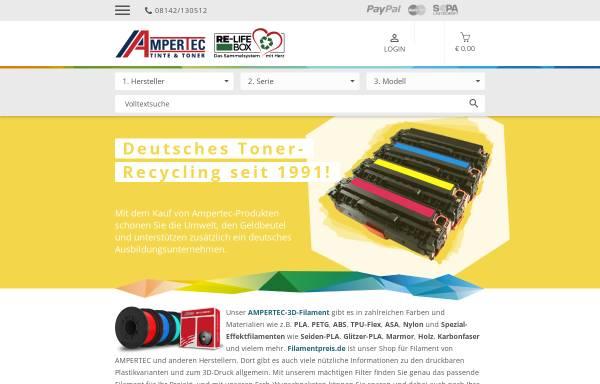 Vorschau von www.ampertec.de, Rudolf Wiegand und Partner GmbH