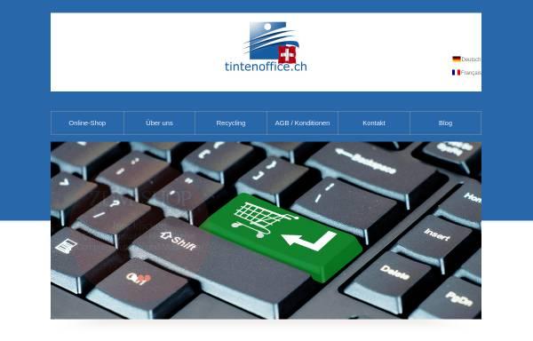 Vorschau von www.tintenoffice.ch, TO Group GmbH