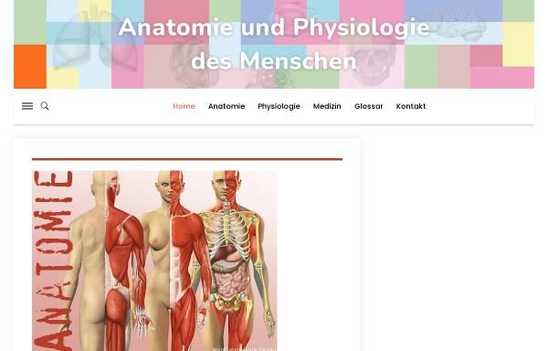 Anatomie und Physiologie online: Anatomie, Fachrichtungen anatomie ...