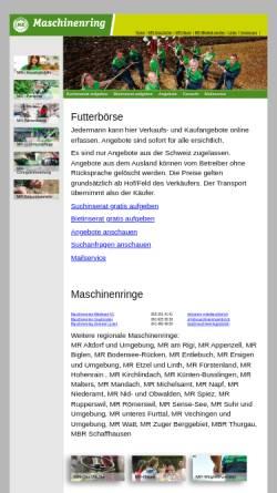 Vorschau der mobilen Webseite www.futterboerse.ch, Futterboerse.ch