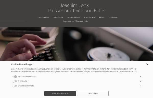 Vorschau von www.joachim-lenk.de, Autogrammsammler Lenk