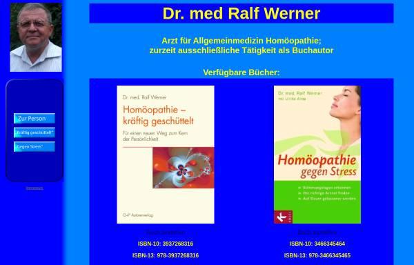 Vorschau von www.homoeopathieweb.de, Dr. Ralf Werner