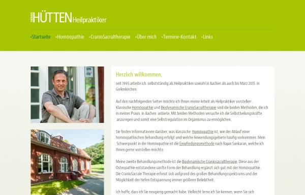 Vorschau von www.praxis-thomashuetten.de, Homöopathische Praxis Thomas Hütten