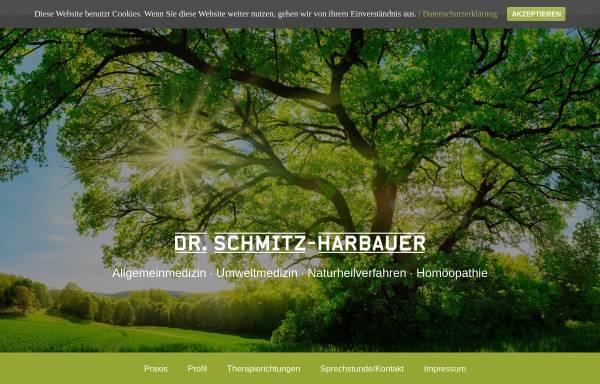 Vorschau von www.praxis-schmitz-harbauer.de, Praxis Dr. med. Wolfgang Schmitz-Harbauer
