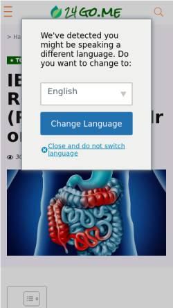 Vorschau der mobilen Webseite www.naturheilkunst-seidel.de, Sabine Seidel
