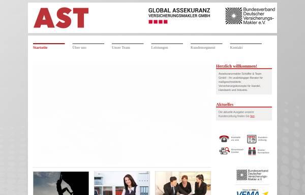 Vorschau von www.makler-ast.de, AST Assekuranzmakler Schäffer Thoma GmbH