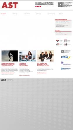 Vorschau der mobilen Webseite www.makler-ast.de, AST Assekuranzmakler Schäffer Thoma GmbH