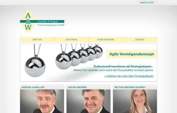 Vorschau von www.aumueller-wegner.de, Aumüller & Wegner Finanzmanagement GmbH