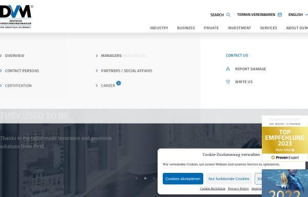 Vorschau von www.deutsche-versicherungsmakler.de, Deutsche Versicherungsmakler GmbH