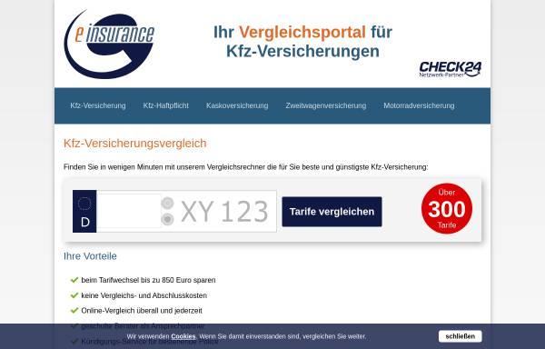 Vorschau von www.einsurance.de, Einsurance AG
