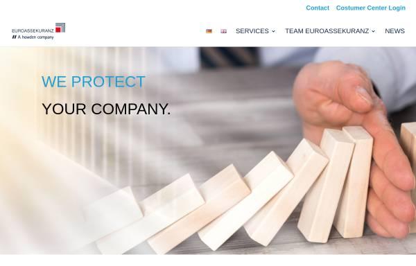 Vorschau von www.euroassekuranz.de, Euroassekuranz Versicherungsmakler AG