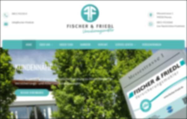 Vorschau von www.fischer-friedl.de, Fischer & Friedl GmbH Versicherungsmakler
