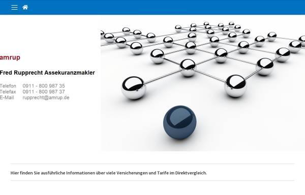 Vorschau von www.amrup.de, Fred Rupprecht Assekuranzmakler