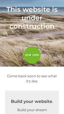 Vorschau der mobilen Webseite www.gkfv.de, Gerald Klam Finanz- und Versicherungsmakler GmbH