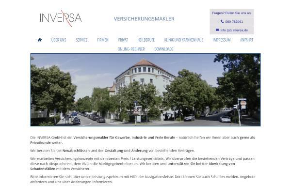 Vorschau von www.inversa.de, Inversa GmbH Versicherungsmakler