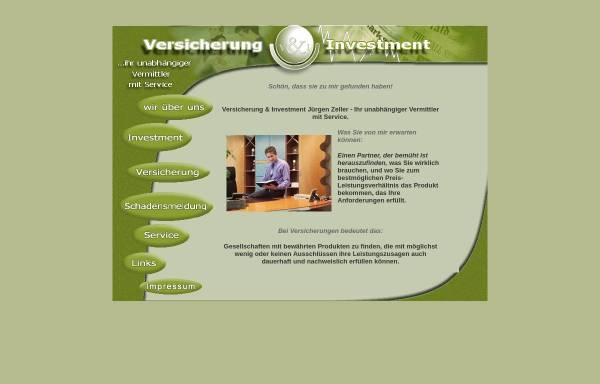 Vorschau von www.juergen-zeller.com, Jürgen Zeller - Versicherung & Investment