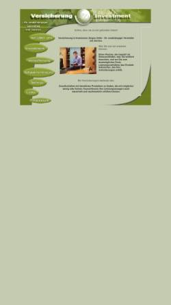 Vorschau der mobilen Webseite www.juergen-zeller.com, Jürgen Zeller - Versicherung & Investment