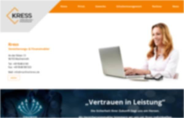 Vorschau von www.kress-partner.de, Kress & Partner, Inh. Manfred Kress