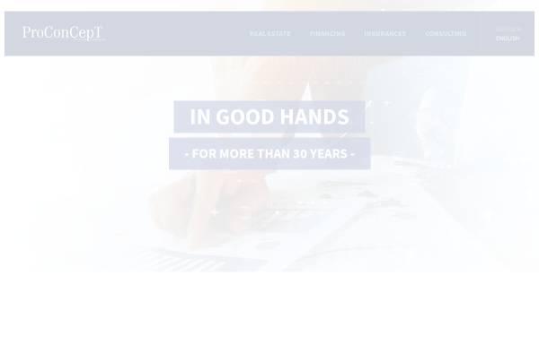 Vorschau von www.proconcept-int.de, ProConCept, Inh. Peter Sowade