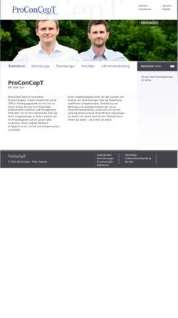 Vorschau der mobilen Webseite www.proconcept-int.de, ProConCept, Inh. Peter Sowade