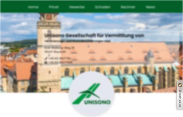 Vorschau von www.unisonogmbh.de, Unisono GmbH