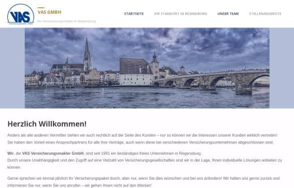 Vorschau von www.vas.de, VAS Versicherungsmakler GmbH