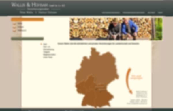 Vorschau von www.wallis-partner.de, Wallis & Partner, Inh. Peter Wallis und Helmut Hühsam