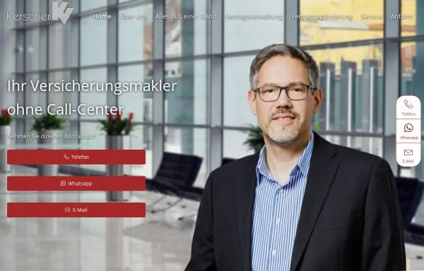 Vorschau von www.kerscher-versicherungsmakler.de, Kerscher Versicherungsmakler GbR