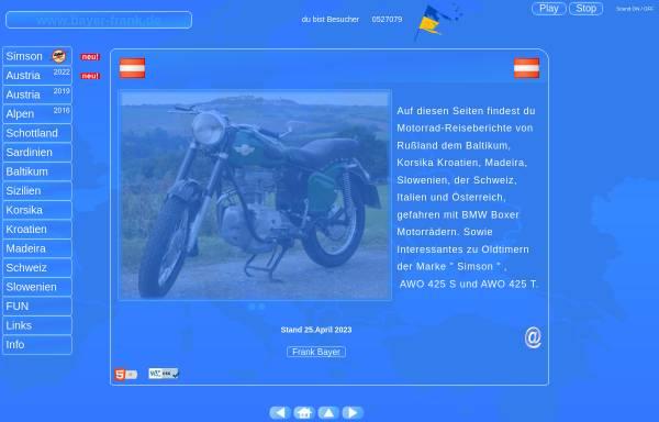 Vorschau von www.bayer-frank.de, Motorradtour durch Slowenien