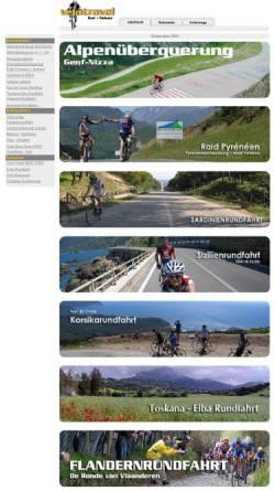 Vorschau der mobilen Webseite www.velotravel.de, Velotravel - Radreisen weltweit