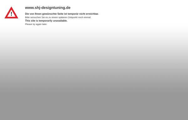 Vorschau von www.shj-designtuning.de, SHJ - Designtuning GbR