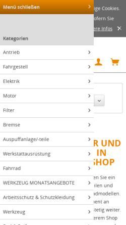 Vorschau der mobilen Webseite www.grobmotorik.org, Grobmotorik, Helmut Zocher