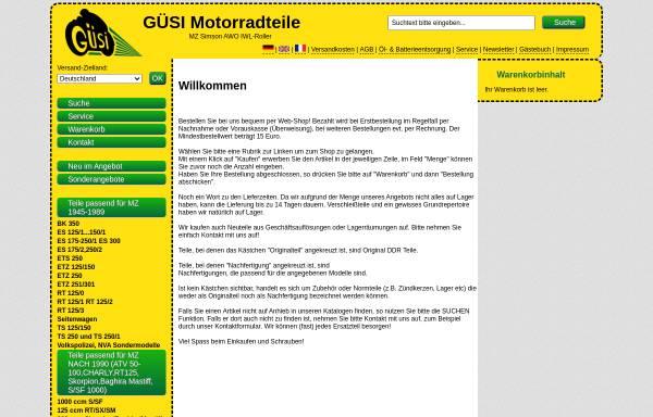 Vorschau von www.mzsimson.de, Güsi Motorradteile