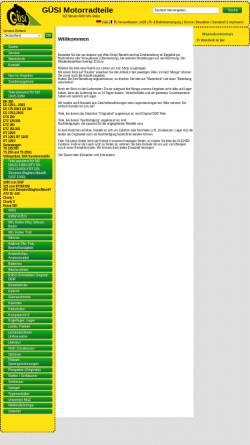 Vorschau der mobilen Webseite www.mzsimson.de, Güsi Motorradteile